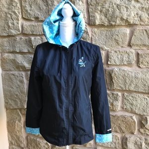 Disney World Parks Rain Jacket Windbreaker Minnie